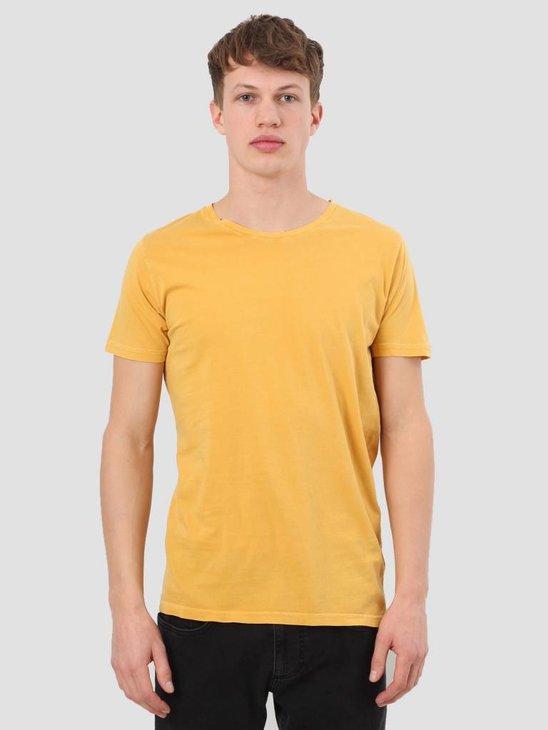 RVLT Garment Dyed T-Shirt Dark Yellow 1006