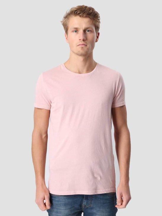 RVLT Garment Dyed T-Shirt Pink 1006