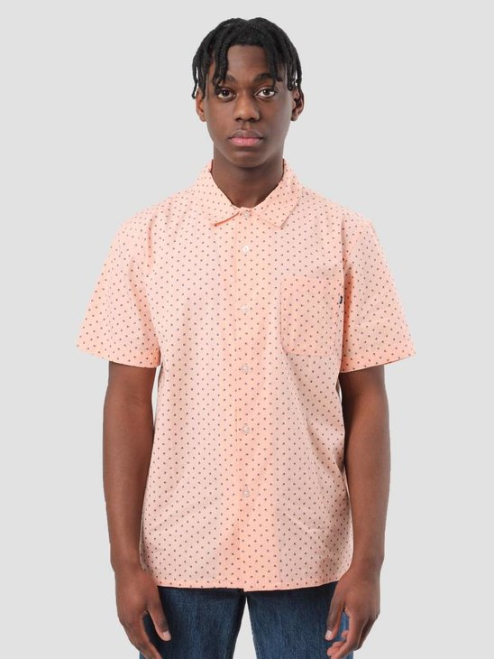 Obey Gavin Woven Coral 181210190
