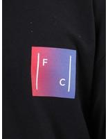 FRESHCOTTON FreshCotton Gradient Logo Longsleeve Black