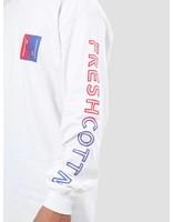 FRESHCOTTON FreshCotton Gradient Logo Longsleeve White