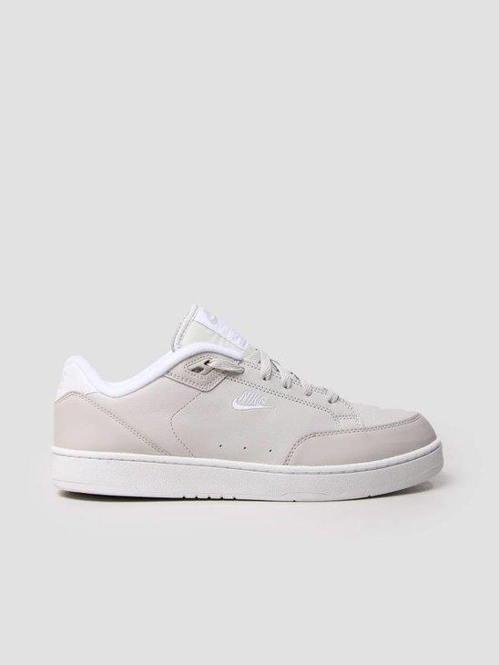 Nike Grandstand II Shoe Light Bone White White AA2190-003