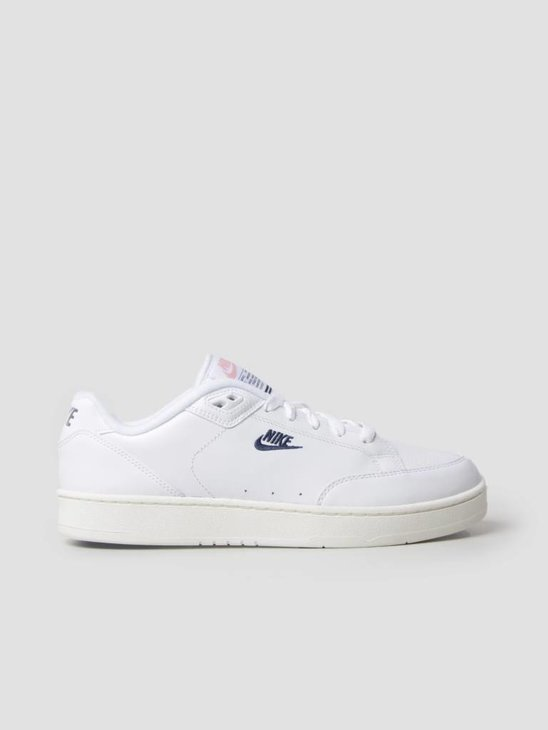 Nike Grandstand II White Navy Sail Arctic Punch AA2190-100