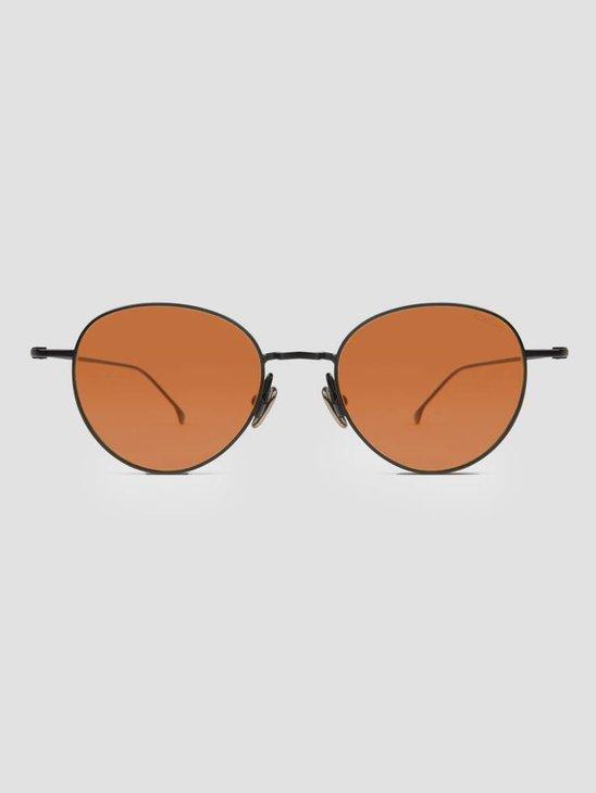 Komono Hailey Sunglasses Black Orange KOM-S4501