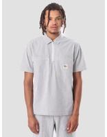Stussy Stussy Half Zip Seersucker Shirt Black Stripe 111983