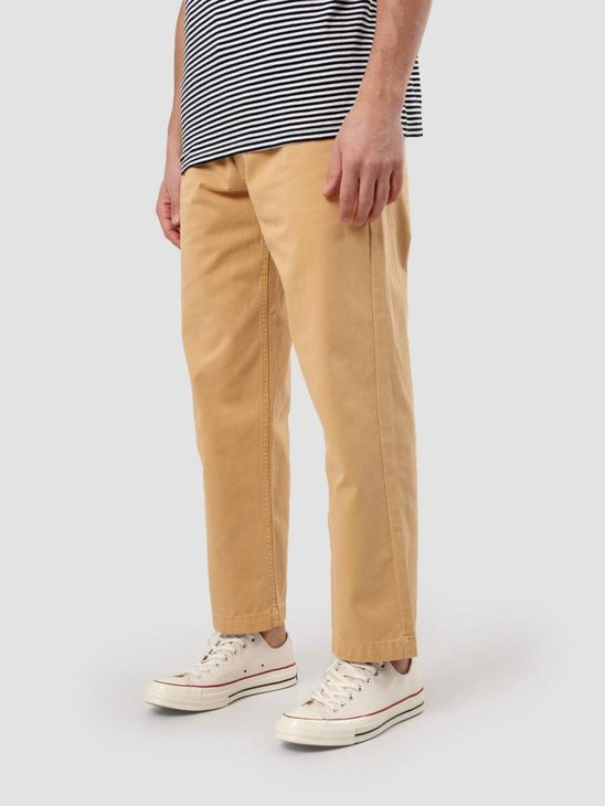 Obey Hard Work Pant Yellow 142020108