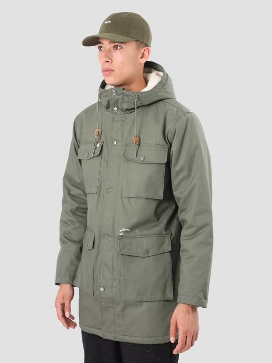 Obey Heller II Jacket Army 121800287 Arm