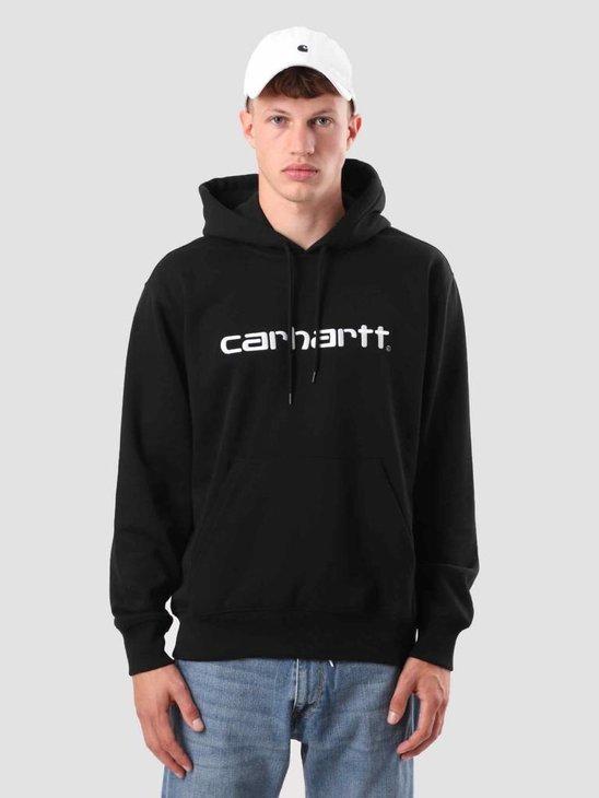 Carhartt Hooded Carhartt Sweat Black White I025479-8991