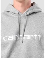 Carhartt Carhartt Hooded Carhartt Sweat Grey Heather White I025479-V690
