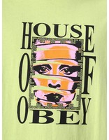 Obey Obey House Of Obey Basic Pigment T-Shirt Dusty Mint 166721726