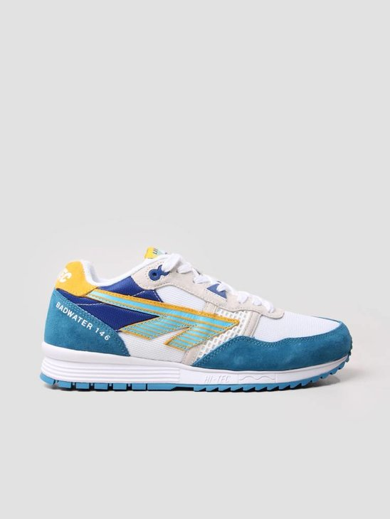 Hi-Tec HTS Badwater 146 ABC Suede Sky Blue Lemon Navy 6780-031