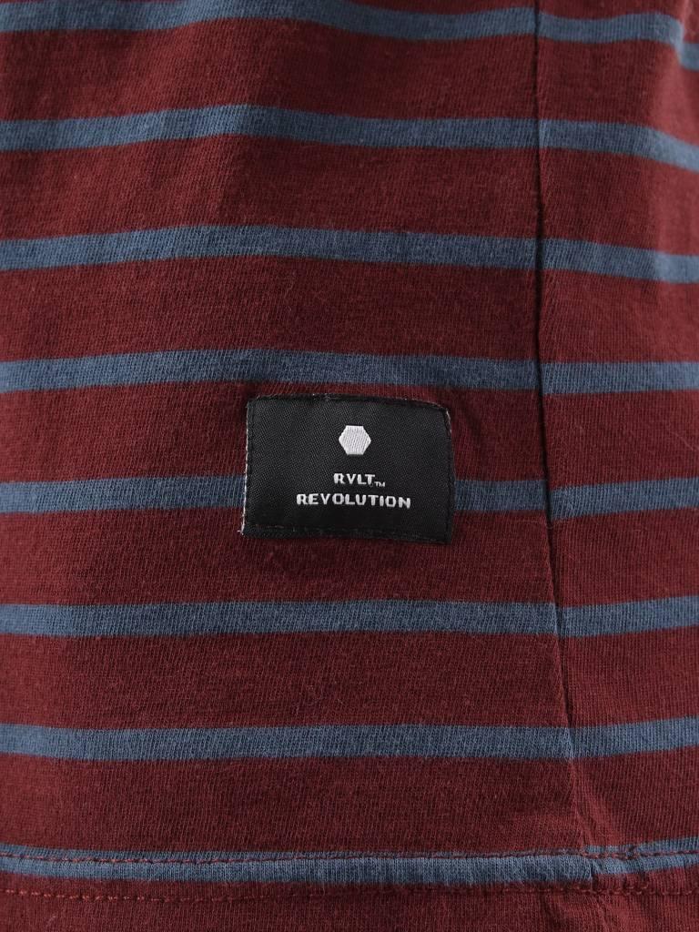 RVLT RVLT Ib T-Shirt Bordeaux 1016