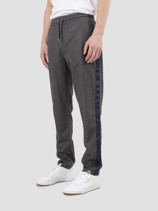 WEARECPH Janzik Tape Pants 1495 Dark Grey Mel. W18104005