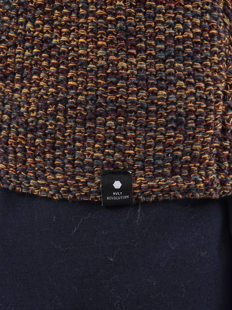 RVLT RVLT Joakim Knit Purple 6293