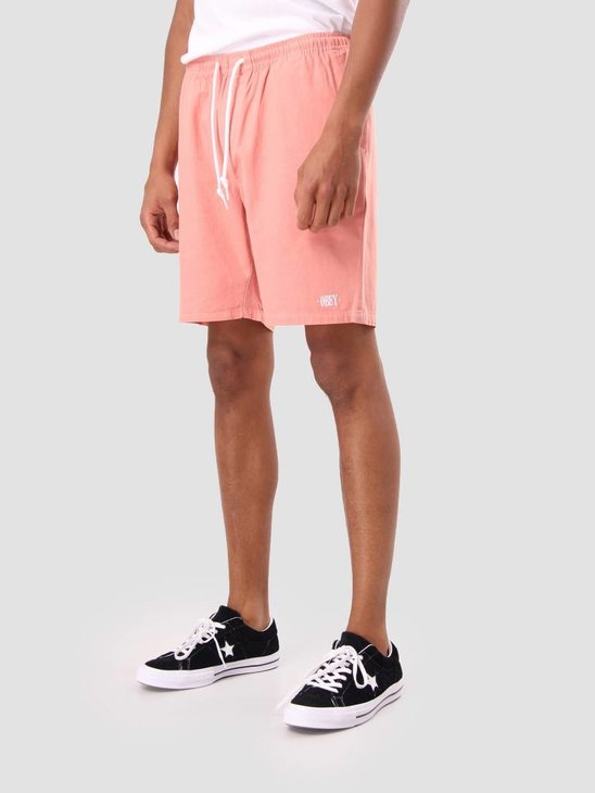 Obey Keble Short Pale Coral 172120022
