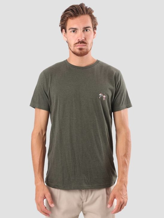 RVLT Kenneth Printed T-Shirt Army 1953