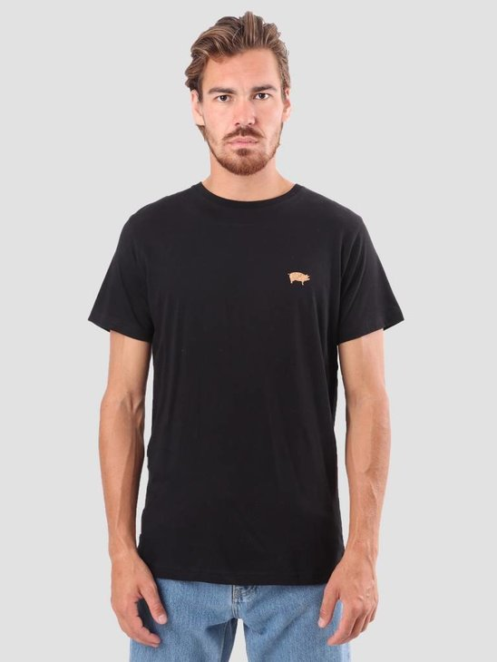 RVLT Kenneth Printed T-Shirt Black 1952