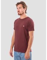 RVLT RVLT Kenneth Printed T-Shirt Bordeaux 1953