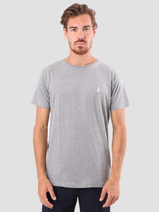 RVLT Kenneth Printed T-Shirt Grey 1953