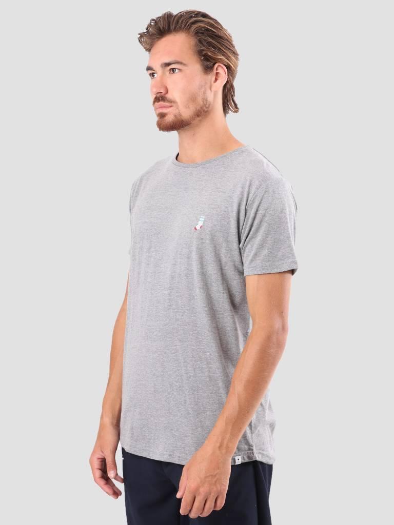 RVLT RVLT Kenneth Printed T-Shirt Grey 1953