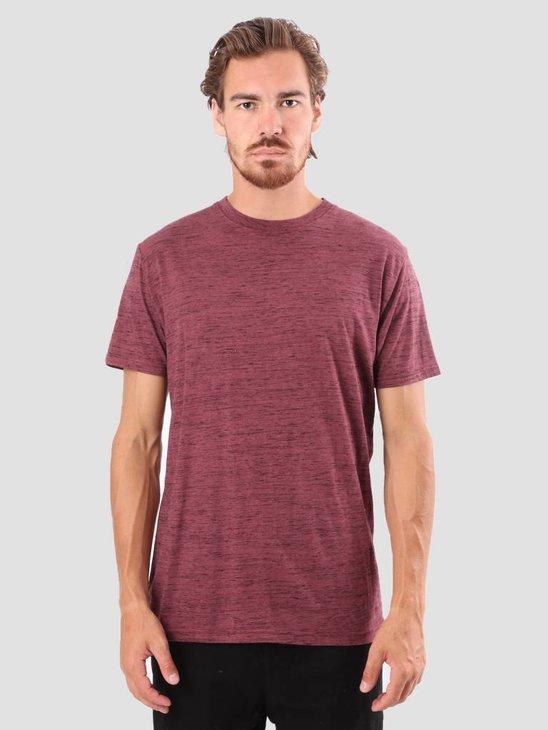RVLT Kurt T-Shirt Bordeaux 1014