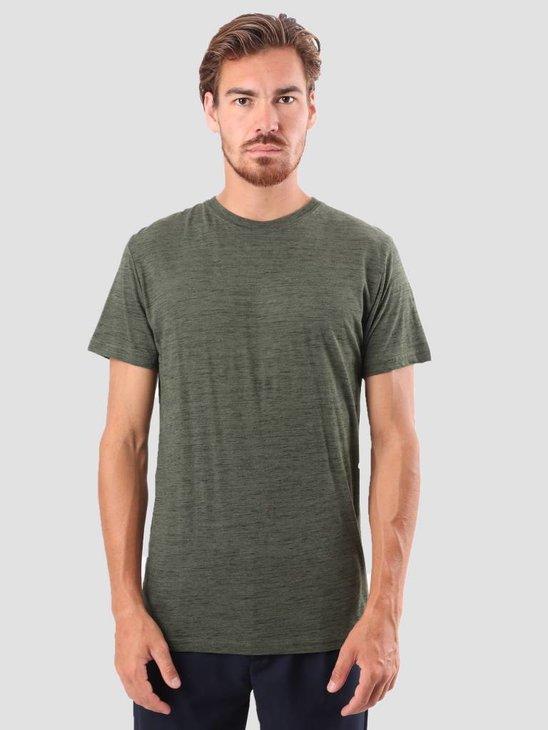 RVLT Kurt T-Shirt Light Army 1014