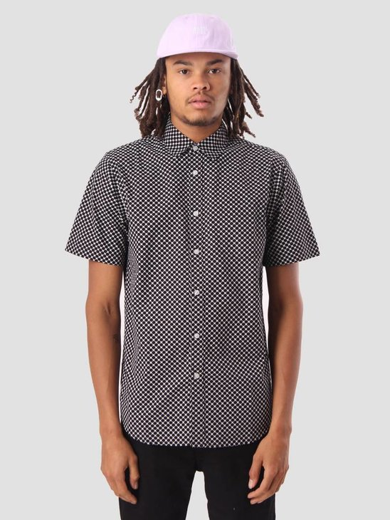 Obey Landri Woven Shirt Black Multi 181210202