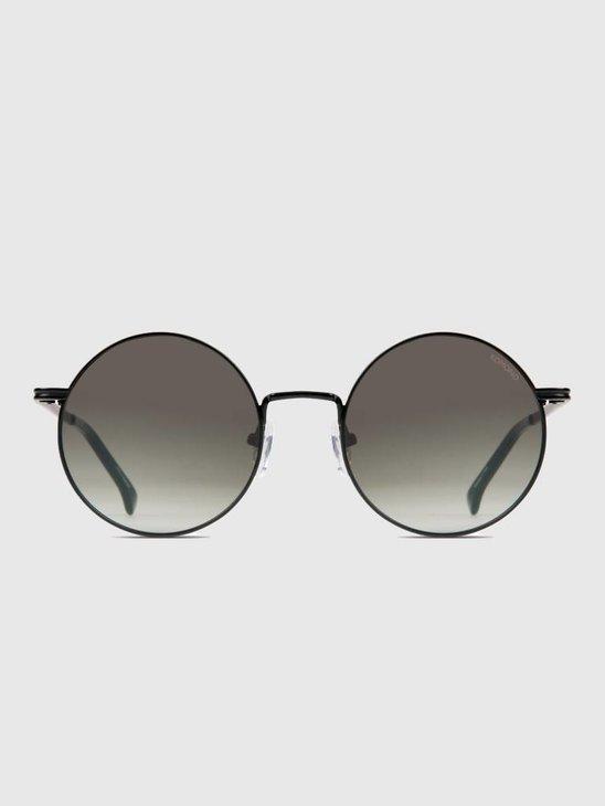 Komono Lennon Sunglasses Black Green Kom-S2552