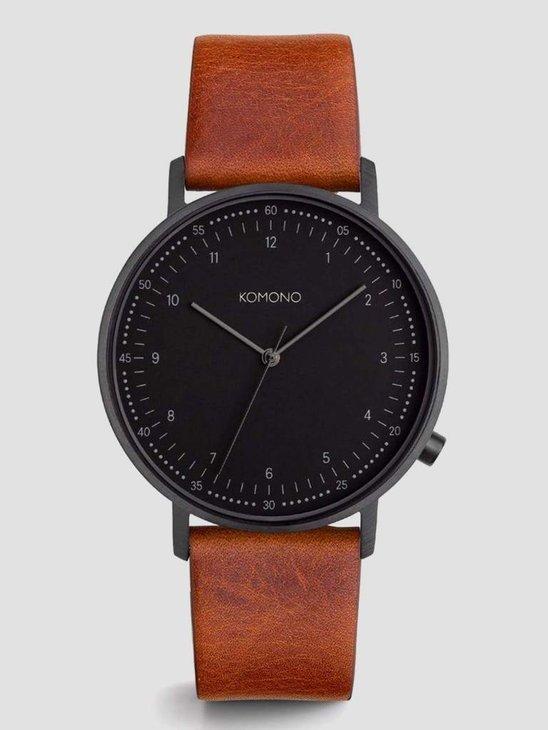 Komono Lewis Cognac Watch KOM-W4062