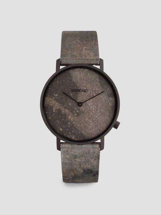 Komono Lewis Watch Grey Slate KOM-W4052