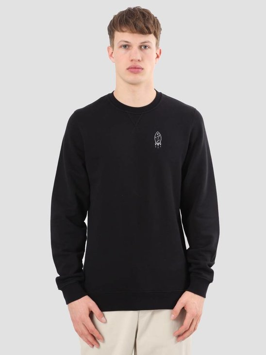 Ceizer Live It Up Crewneck Black S18-03