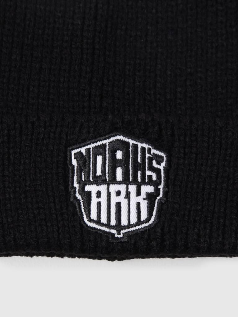 Noahs Ark Noahs Ark Logo Beanie Black
