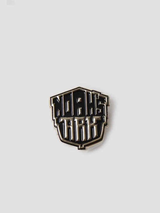 Noahs Ark Logo Pin Gold Black