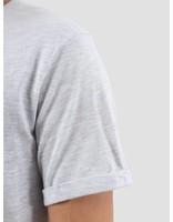 Les Deux Les Deux Logo T-Shirt Snow Melange Yellow LDM101001