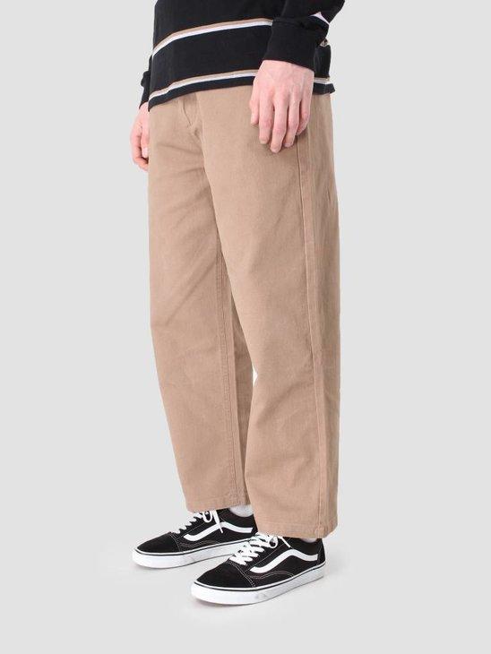 Obey Loiter Big Fits Pant Khaki 142020099