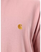 Carhartt Carhartt Longsleeve Chase T-Shirt Soft Rose Gold I022923
