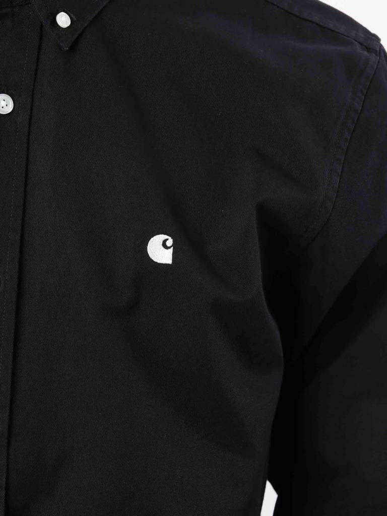 Carhartt Carhartt Madison Shirt Black Wax I023339-8990