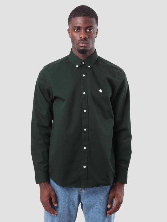 Carhartt Madison Shirt Loden Wax I023339-88590