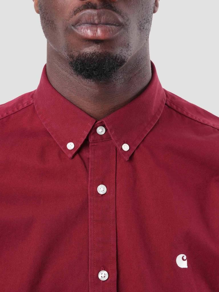 Carhartt Carhartt Madison Shirt Mulberry Wax I023339-88490