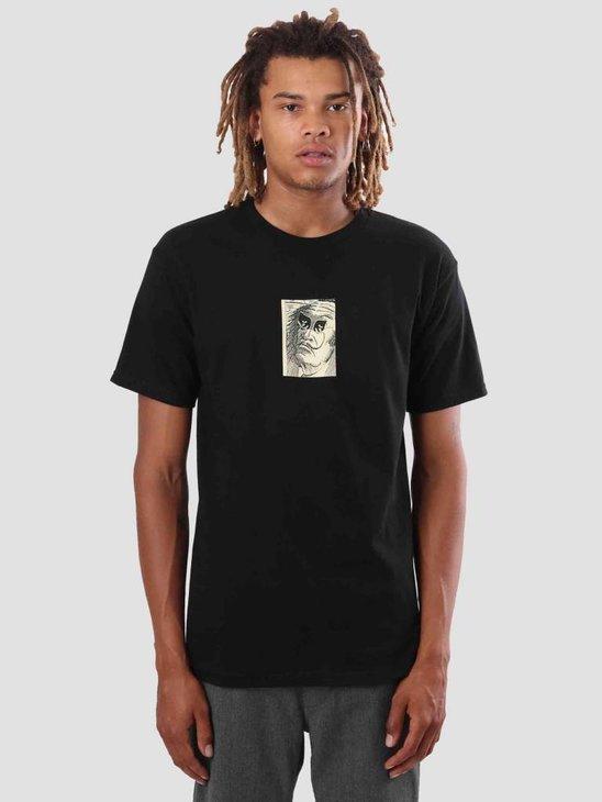 Obey Metamorphosis T-Shirt Black 163081800