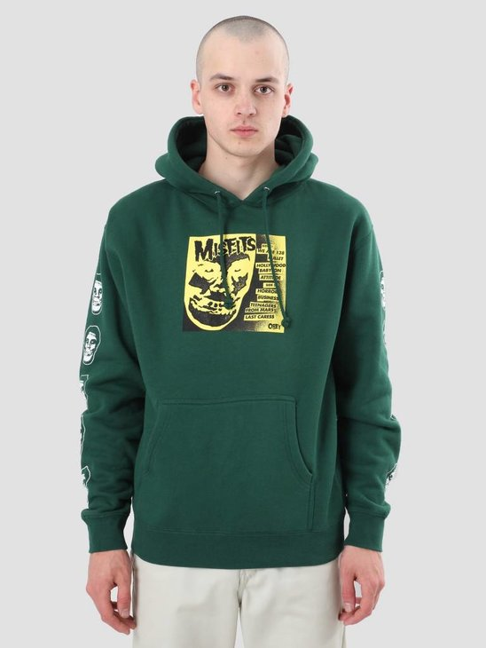 Obey Misfits 7 Cover Dark Green 111731765-GRN