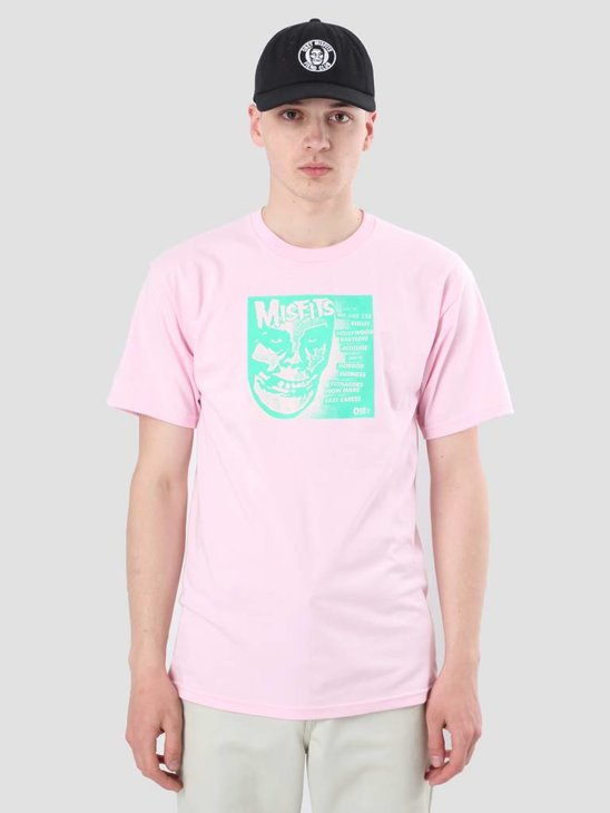 Obey Misfits 7 Cover Pink 163081765-PIN