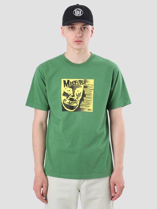 Obey Misfits 7 Cover Vintage Green 166911765-VGR