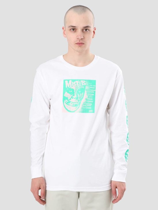 Obey Misfits 7 Cover White 164901765-WHT