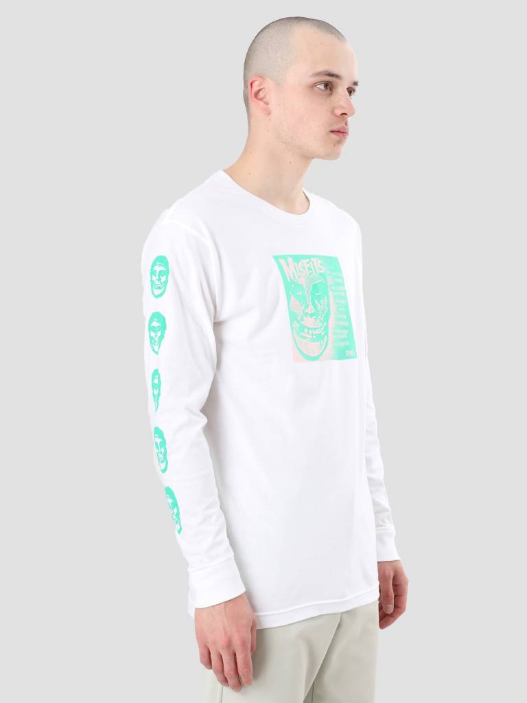 Obey Obey Misfits 7 Cover White 164901765-WHT