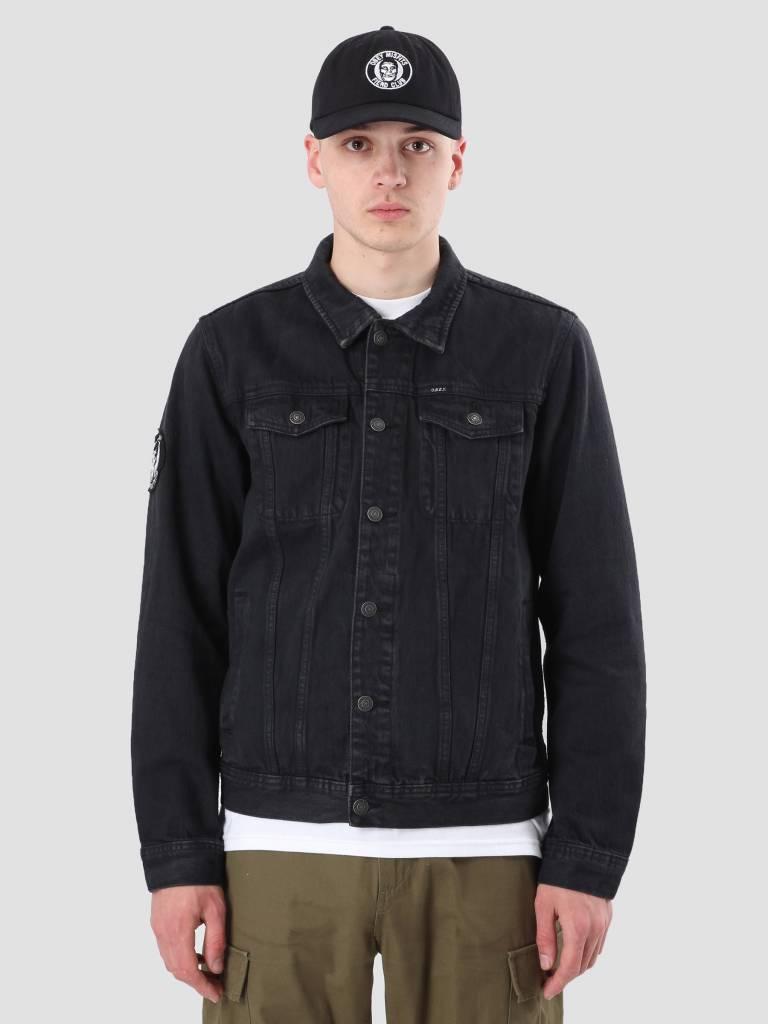 Obey Obey Misfits Denim Jacket Black 121800327-BLK