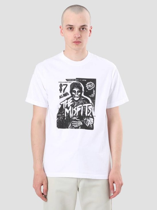 Obey Misfits Show Flyer White 166911766-WHT