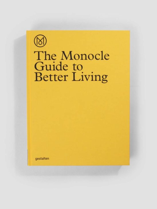 Books Monocle Guide To Better Living Book