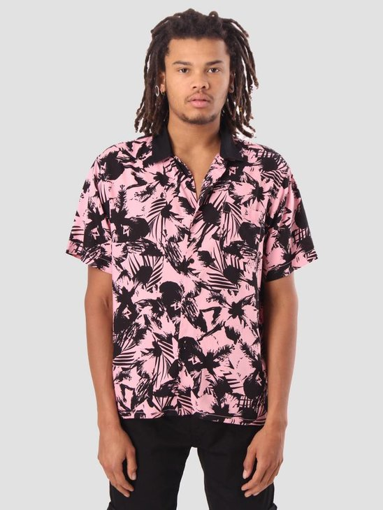 Obey Nate Woven Shirt Pink Multi 181210203