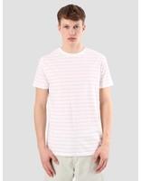 Kronstadt Kronstadt Nick White Pink T-shirt KRSS18-KS2450